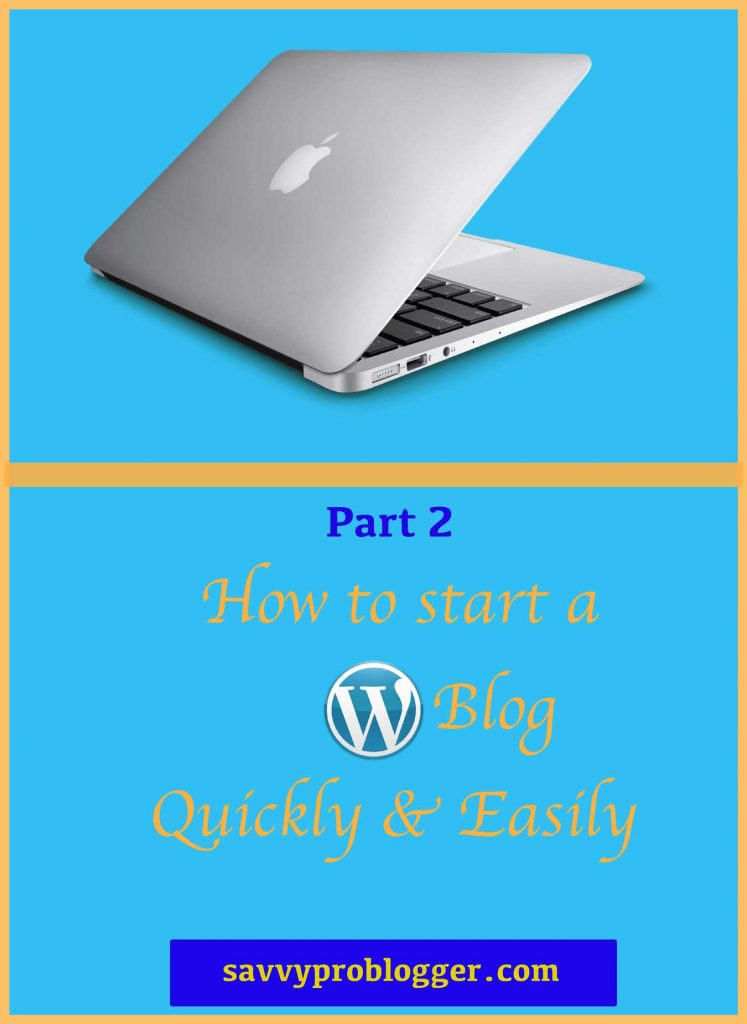 how to start a blog quickly pinterest