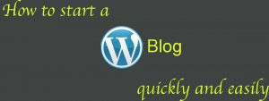 start wp blog quickly savvyproblogger