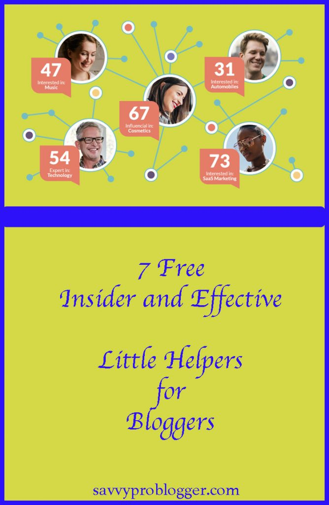 7 free insider effective little helpers bloggers