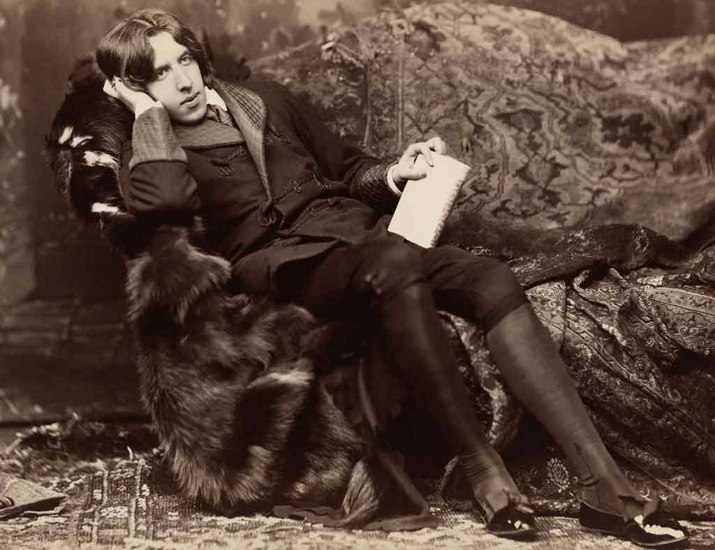 The poet Oscar Wilde.