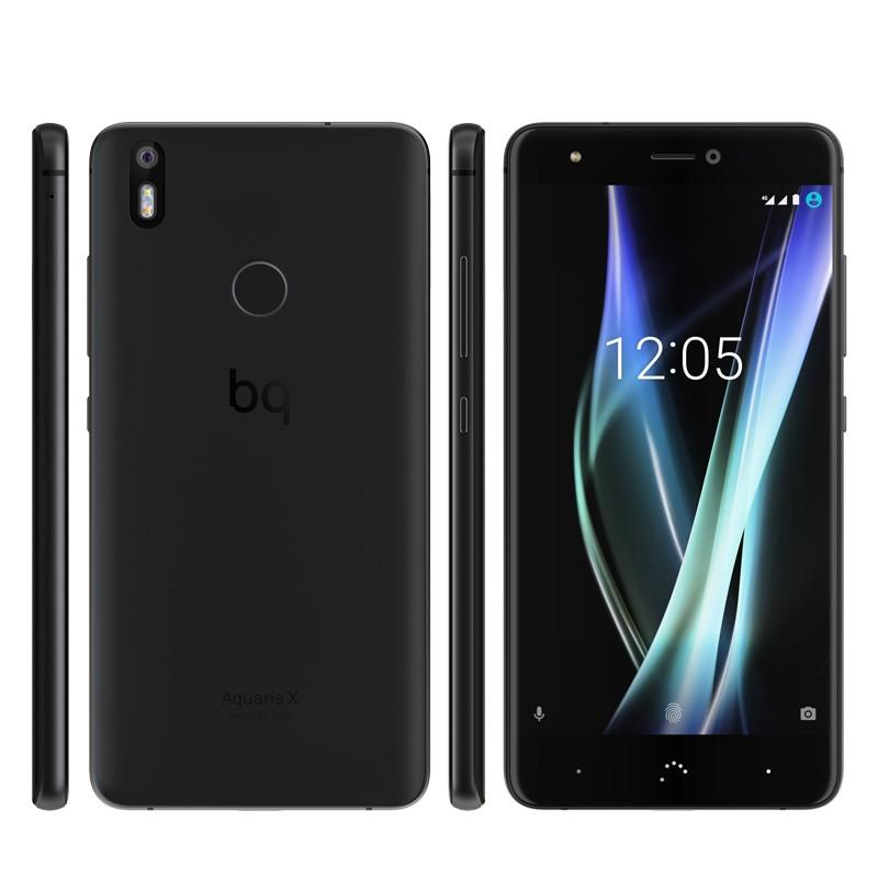 switching from iphone to android bq aquaris x black phone