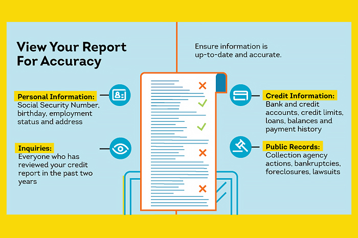 credit report infography nextbiteoflife
