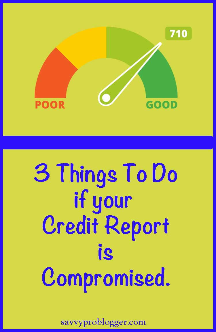 3 things to protect your credit pinterest