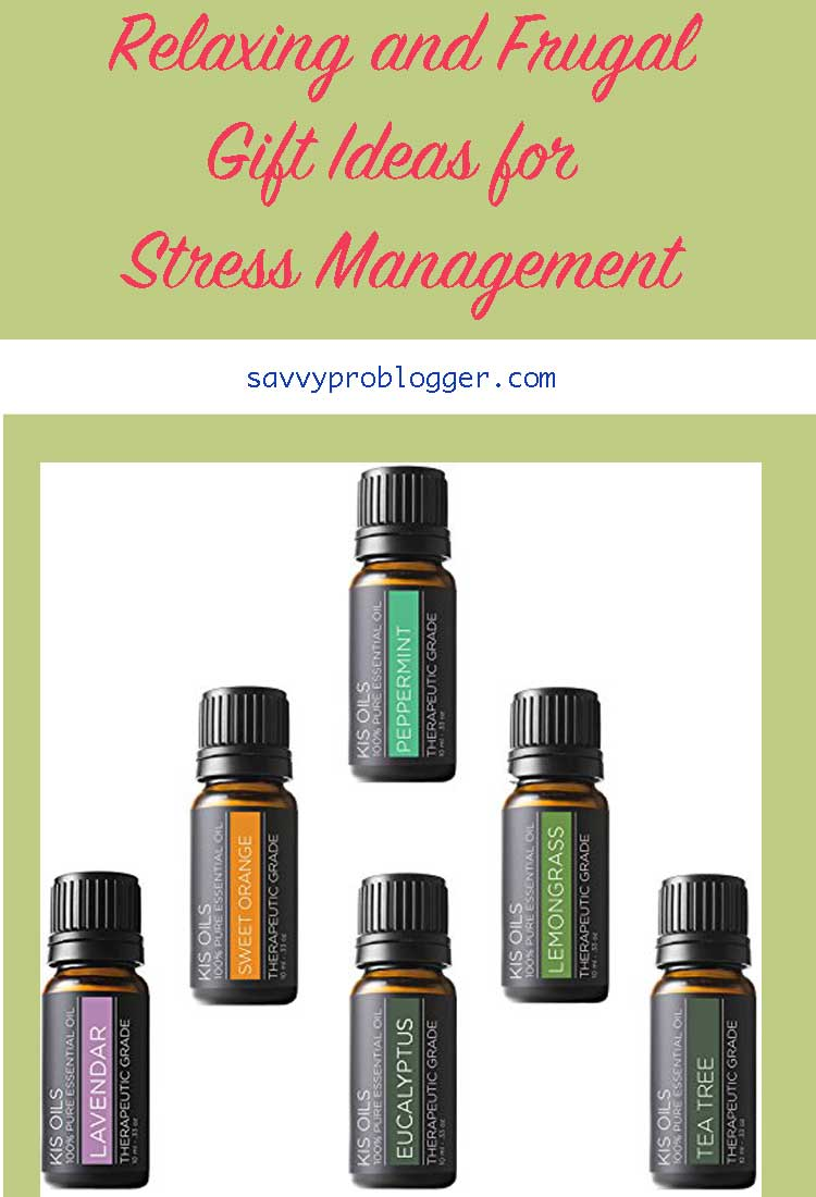 relaxing frugal gift ideas for stress management pinterest