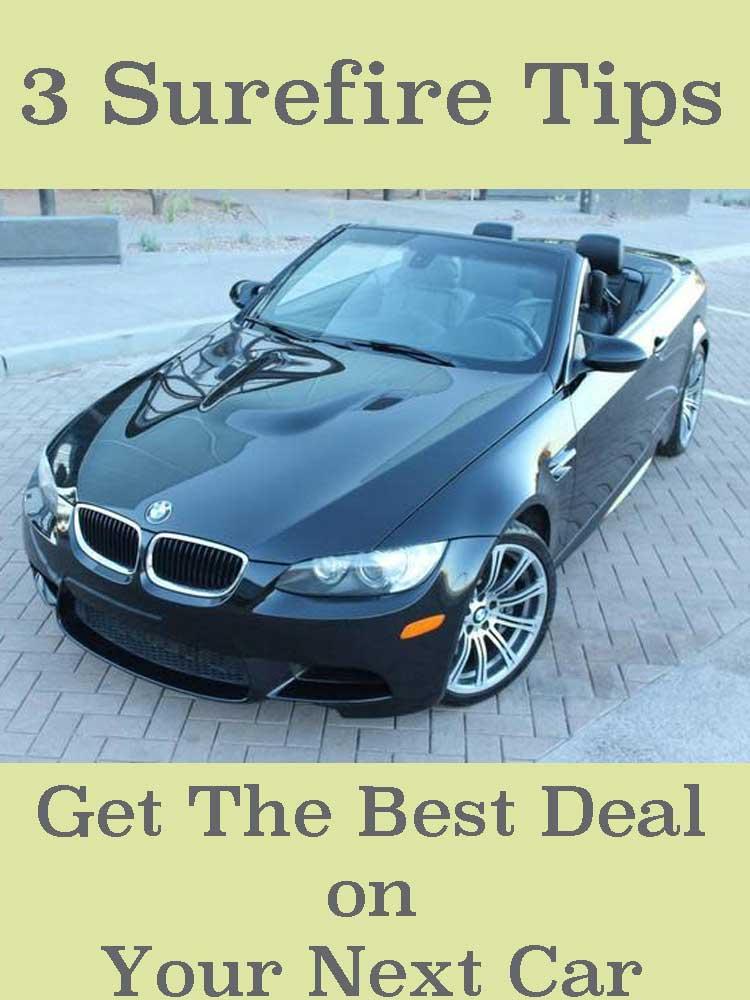 3 surefire tips best deal on next car pinterest