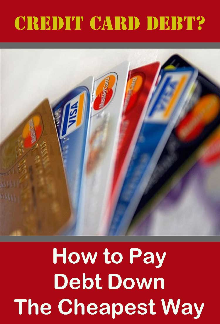 paying down debt the cheapest way pinterest