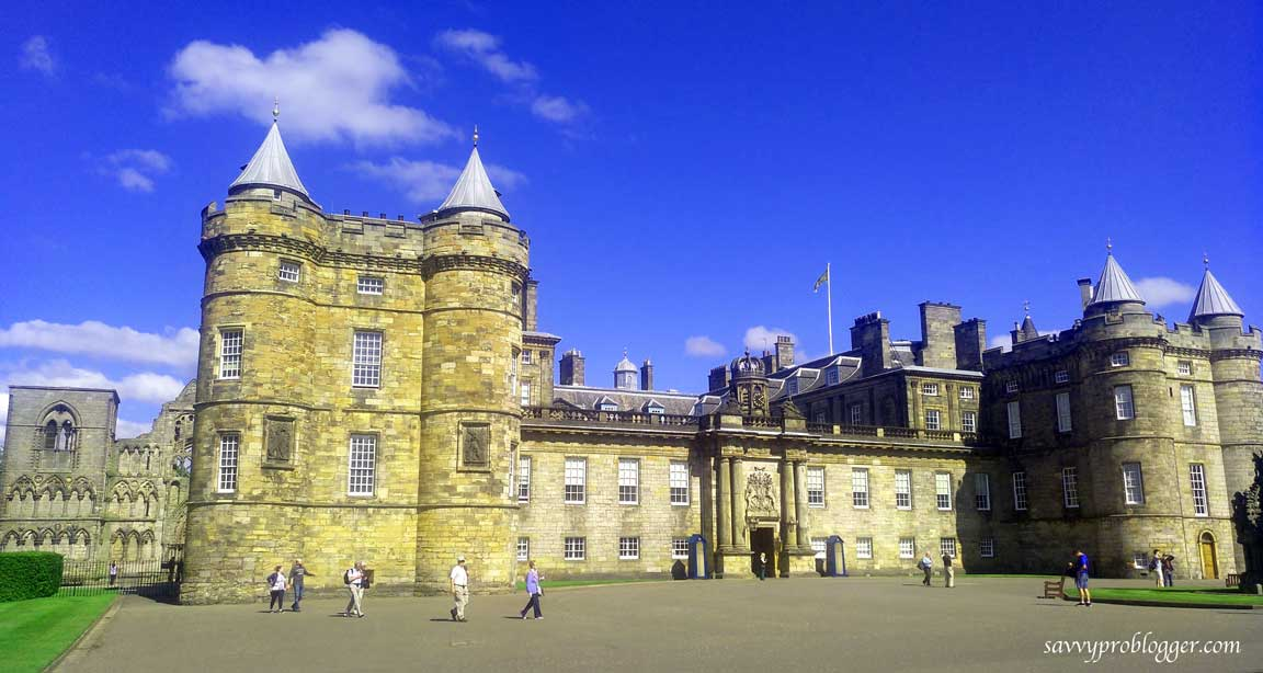 hollyrood palace edinburgh scotland image