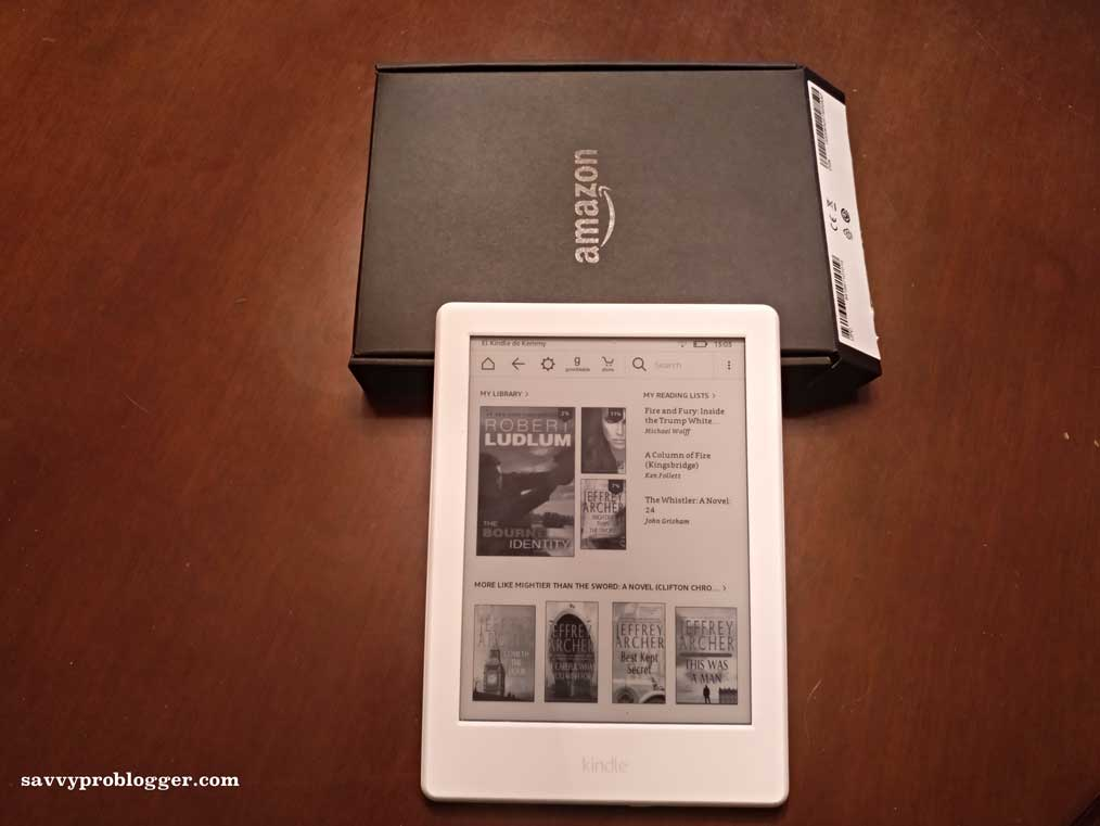 amazon kindle reader for frugal people