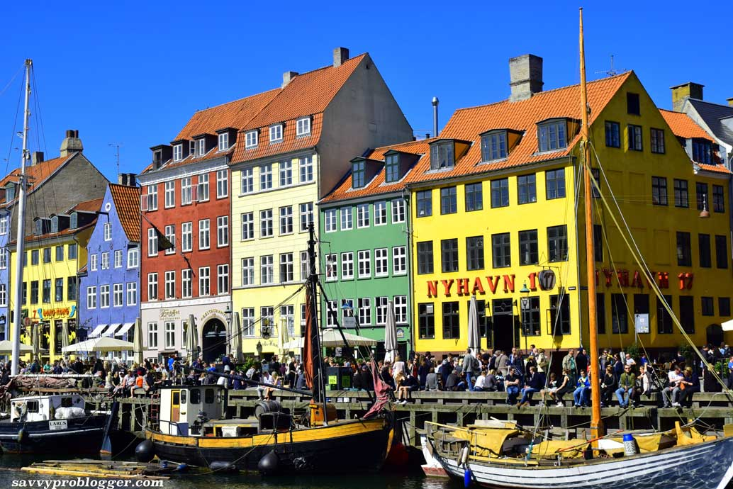 magical travel moment image of copenhagen