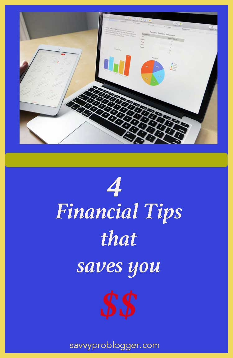 financial money saving tips savvyproblogger