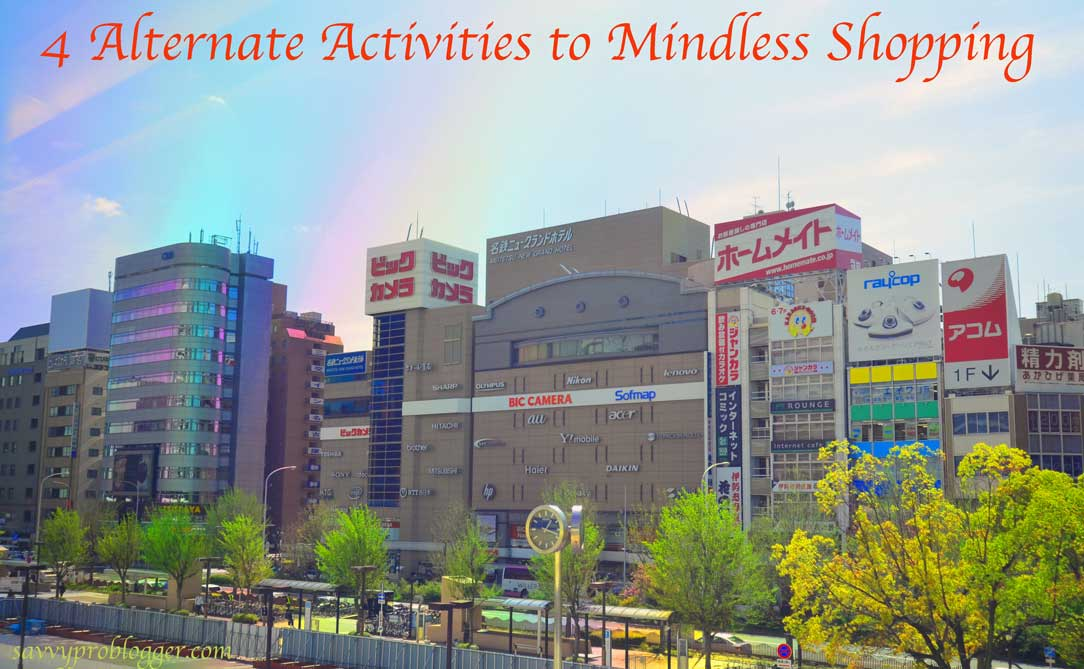 4 useful alternative activities to mindless shopping mall